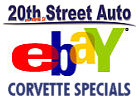 Check Out Our Corvette Ebay Specials